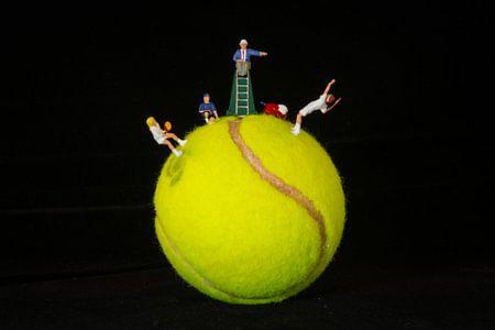 Tennisplanet van Marco van den Arend