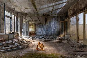 ontruimde school na Tsjernobyl van Gerard Wielenga