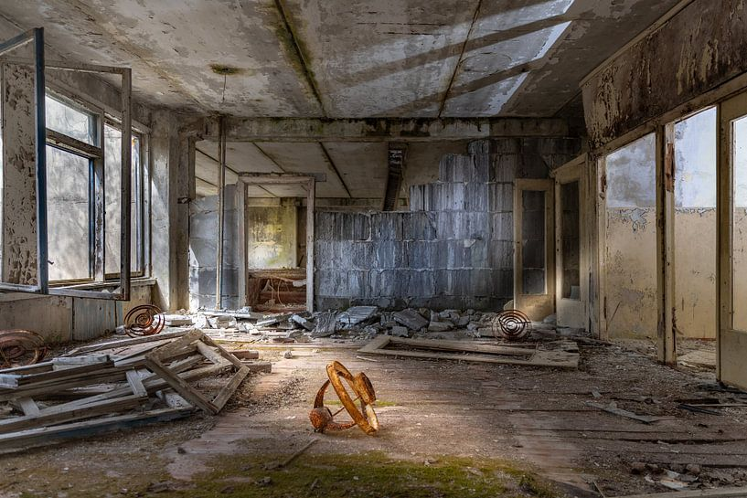 Schule nach Tschernobyl evakuiert von Gerard Wielenga