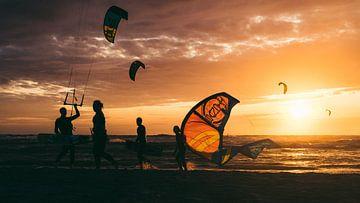Kitesurfen von Marc Kleen
