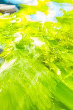 5 Schattierungen von Grün mit Blau von Jan Peter Jansen
