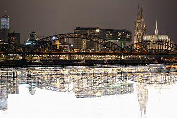 panorama des eaux de Cologne sur Stefan Havadi-Nagy
