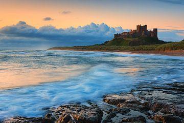 Schloss Bamburgh, Northumberland, England von Henk Meijer Photography