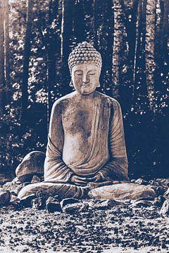 Boeddha - De Ontwaakte. Monument standbeeld van het boeddhisme van Jakob Baranowski - Off World Jack