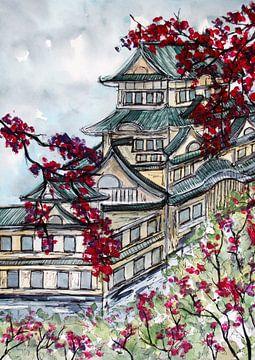 Japanisches Schloss von ZeichenbloQ