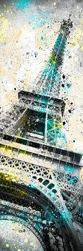 Art Moderne Tour Eiffel | Panorama sur