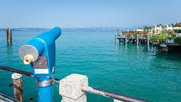 Italiaans plaatje van de noordelijke meren en Alpen van Fotografiecor .nl