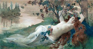 Gaston Gerard, die Schönheit des Herbstes von Atelier Liesjes