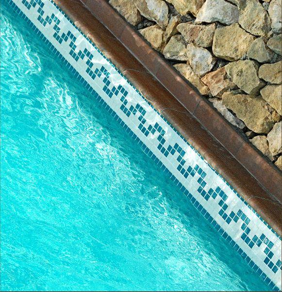 Water en steen van Sigrid Klop