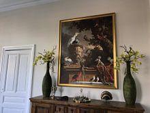 Klantfoto: De menagerie, Melchior d'Hondecoeter van Hollandse Meesters