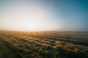 Middelburg cold sunrise 2 van Andy Troy