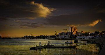 Portimao sunset van