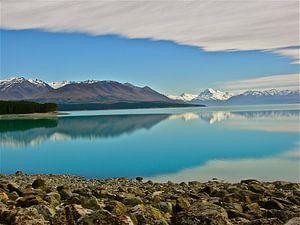 Meren in Nieuw Zeeland Zuidereiland