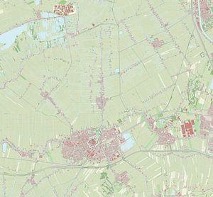 Kaart vanWoerden