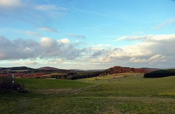 Panoramablik Eifel van M de Vos