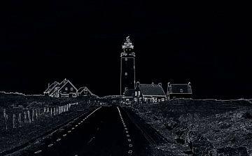 Lichttoren van Texel van Jose Lok
