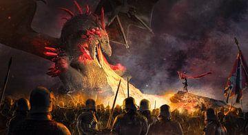 Vecht tegen de draak van Markus Bieck