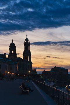 Brühlsche Terrasse Dresden sur Gunter Kirsch