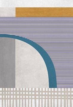 Abstracte samenstelling 1069 van Angel Estevez