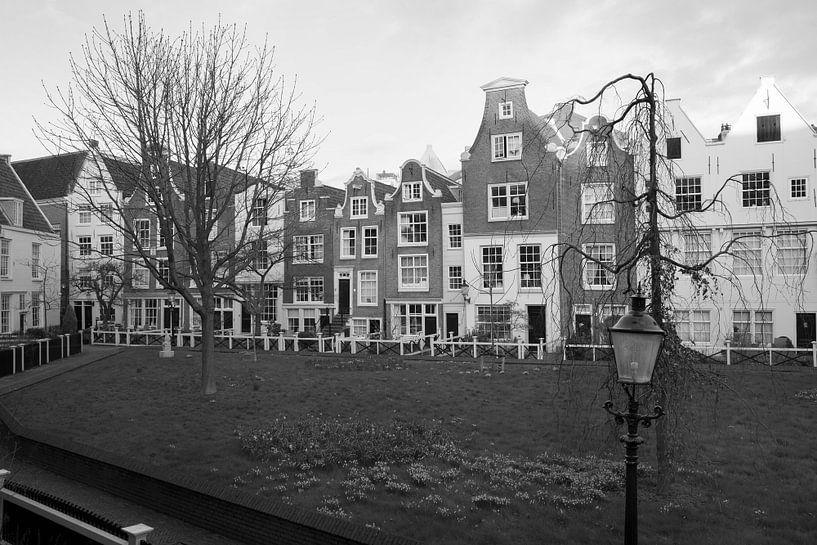 Begijnhof in Amsterdam van Barbara Brolsma
