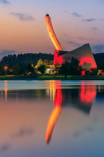 Bjoeks, climbing center, Groningen, Netherlands van Henk Meijer Photography