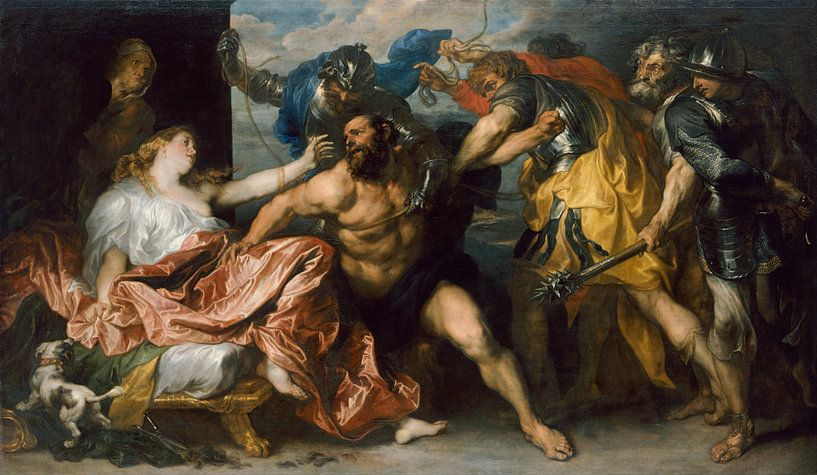 Samson und Delilah, Anthony van Dyck. von Meesterlijcke Meesters