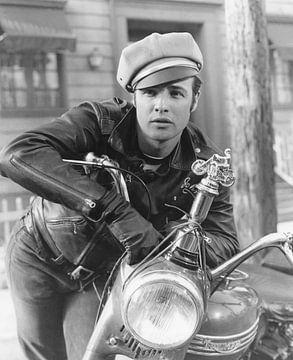 """Marlon Brando in """"The Wild One"""" 1953 von Bridgeman Images"""