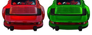 Porsche 911 G-Modell in red & green von aRi F. Huber