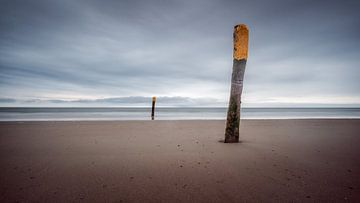 Am Strand von Norderney von Steffen Peters