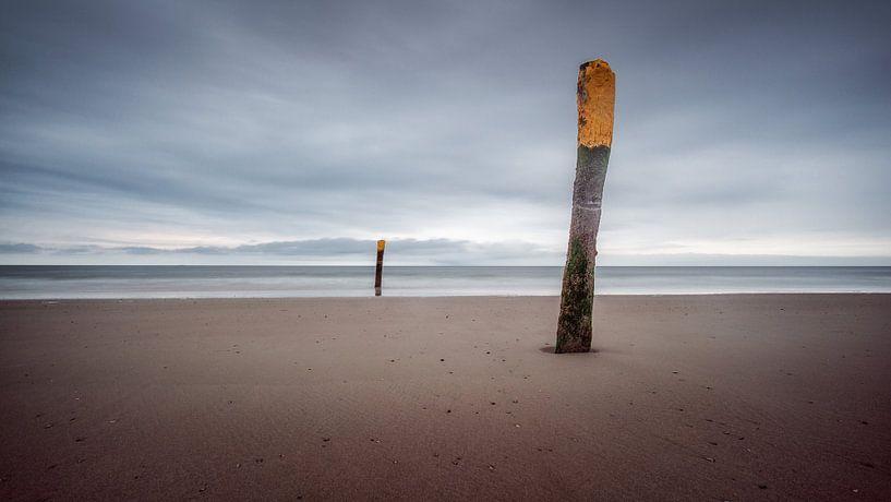 Op het strand van Norderney van Steffen Peters