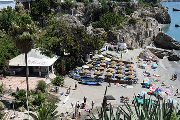 papagayo strand nerja van Frans Versteden