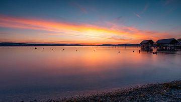 Sonnenuntergang auf Bodensee von Mojca Osojnik