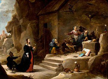 La tentation de saint Antoine, David Teniers II