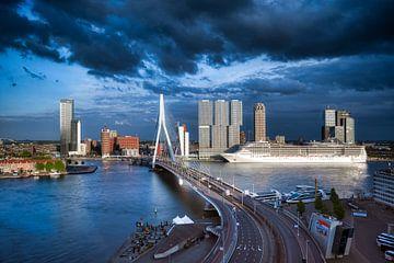 De Skyline van Rotterdam von Roy Poots