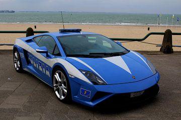 politie Lamborghini Italië.   van Persbureau Hofman B.V.