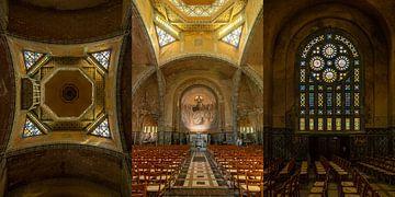 Triptychon Kirche Saint-Julien von Domfront von Kok and Kok