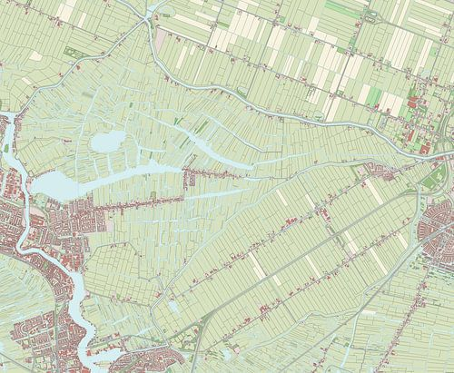 Kaart vanWormerland