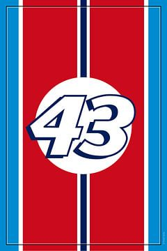 Richard Petty NASCAR, racewagenontwerp van Theodor Decker