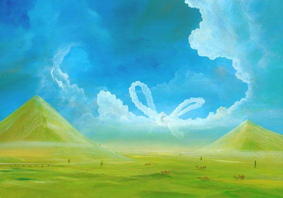Wolkenschleife van Silvian Sternhagel