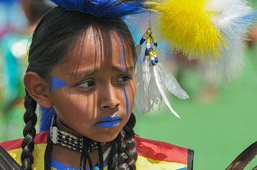 Blackfoot Indiaanse von Lex van Doorn