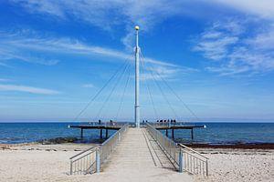 Le pont de la mer de Hohwacht