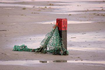 Strandposten auf Schiermonnikoog von Robin Jongerden
