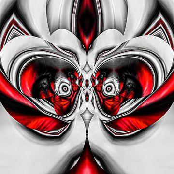 Phantasievolle abstrakte Twirl-Illustration 122/27 von PICTURES MAKE MOMENTS