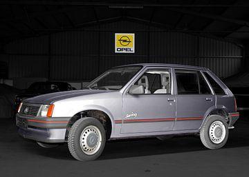Opel Corsa A in originele kleur van aRi F. Huber