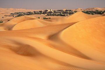 Leegkwartier Abu Dhabi van Achim Thomae