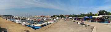 Panorama Porec (Croatië) van Sander Maas
