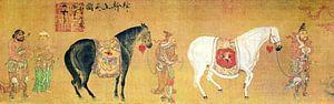 Chinees Kamerbreed 8th century T'ang dynasty van Liesbeth Govers voor omdewest.com
