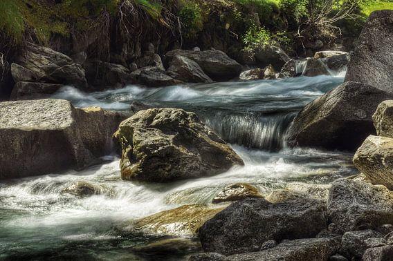 Slowmotion water
