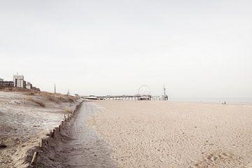 Sonntagmorgen im Februar am Strand von Scheveningen von Fotografie Jeronimo
