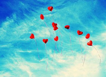 Hearts VI  von Shirley Brandeis